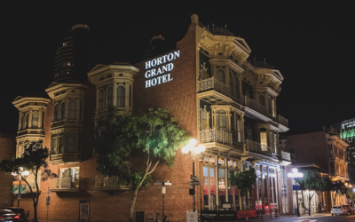 The Horton Grand Hotel in San Diego's Gaslamp Quarter