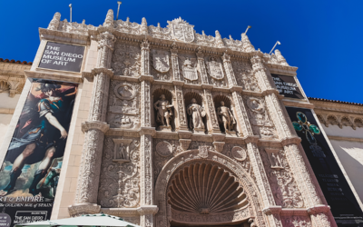 The San Diego Museum of Art in Balboa Park