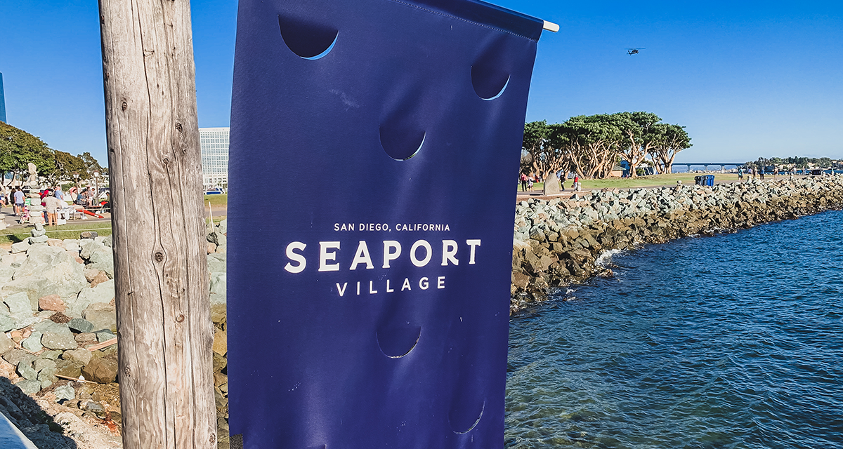 Seaport Village in Downtown San Diego