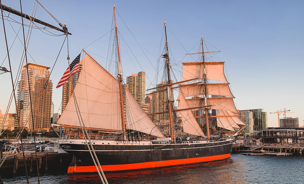 Star of India - Crown Jewel of the Maritime Museum of San Diego