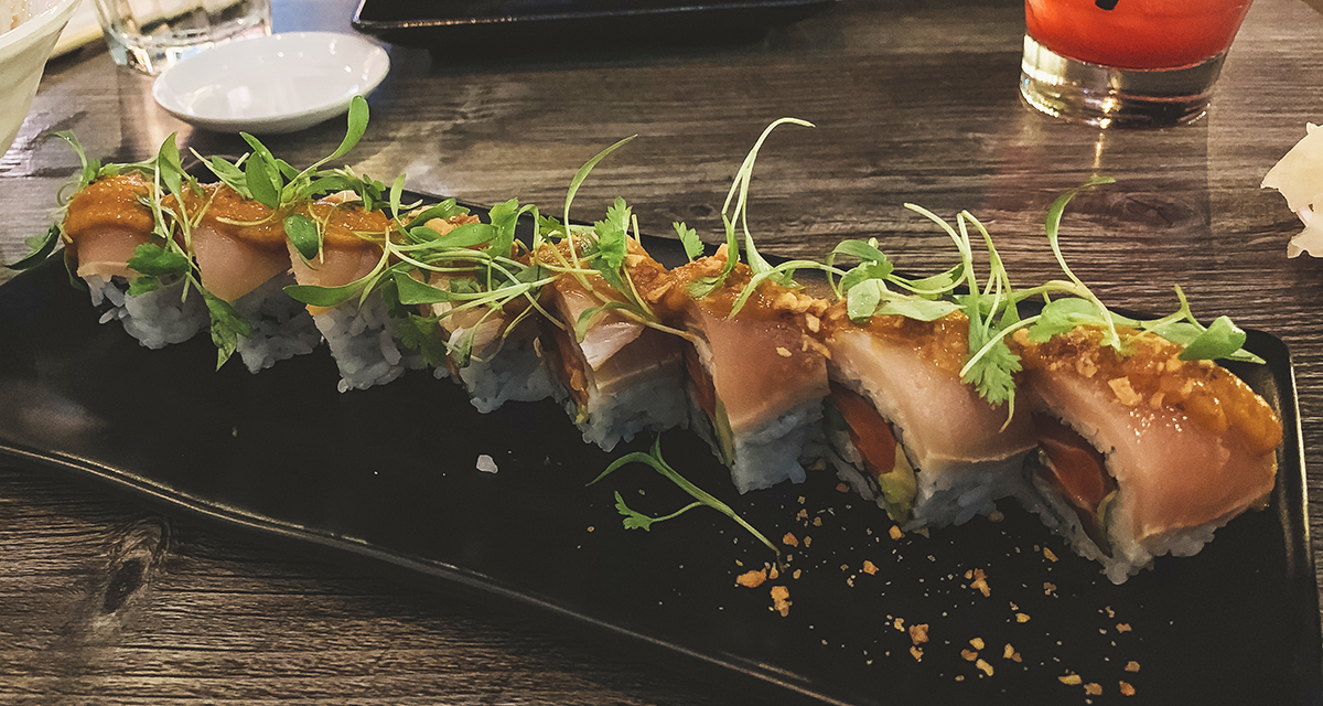 Sushi Lounge on Market in the Gaslamp Quarter