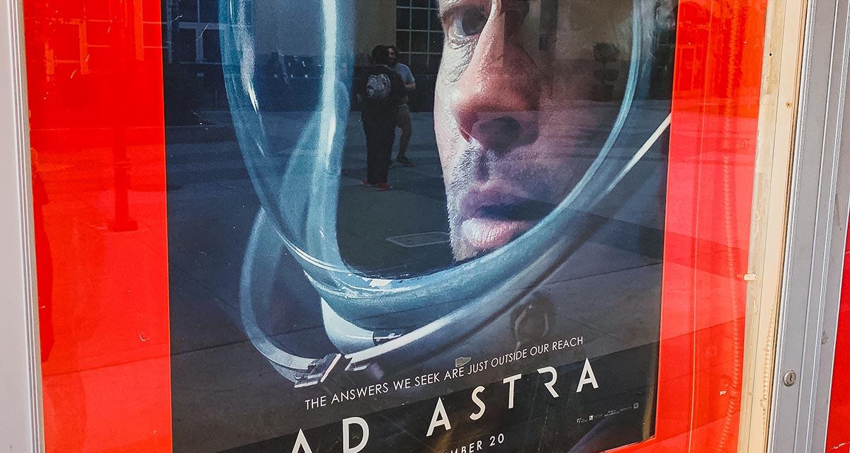 Ad Astra at Esquire IMAX Theatre in Downtown Sacramento