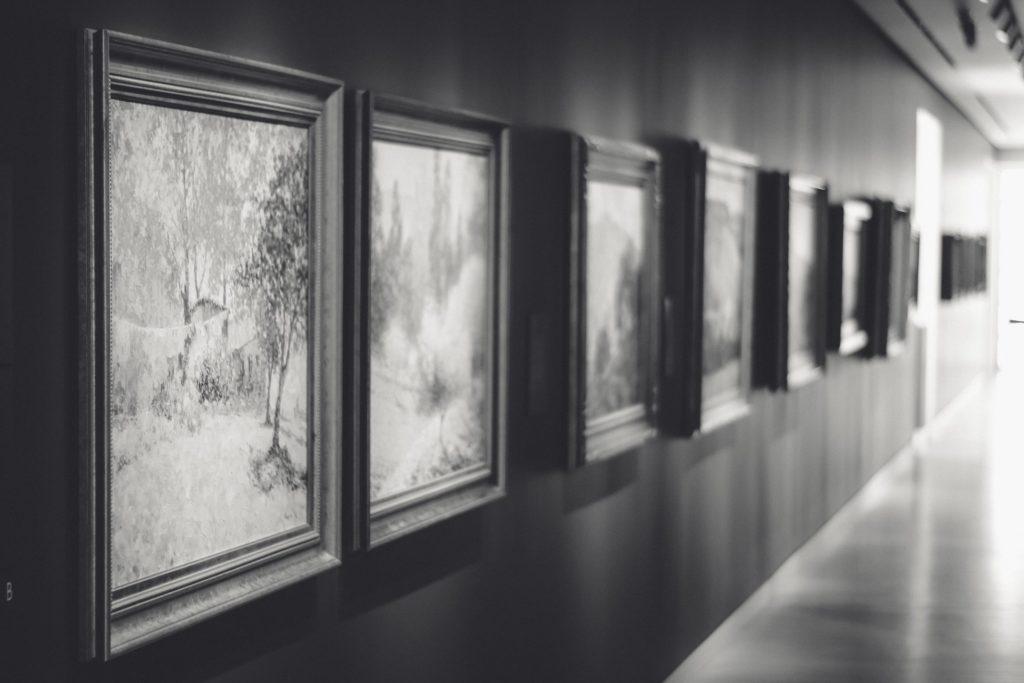 Crocker Art Museum - Hallway of Art