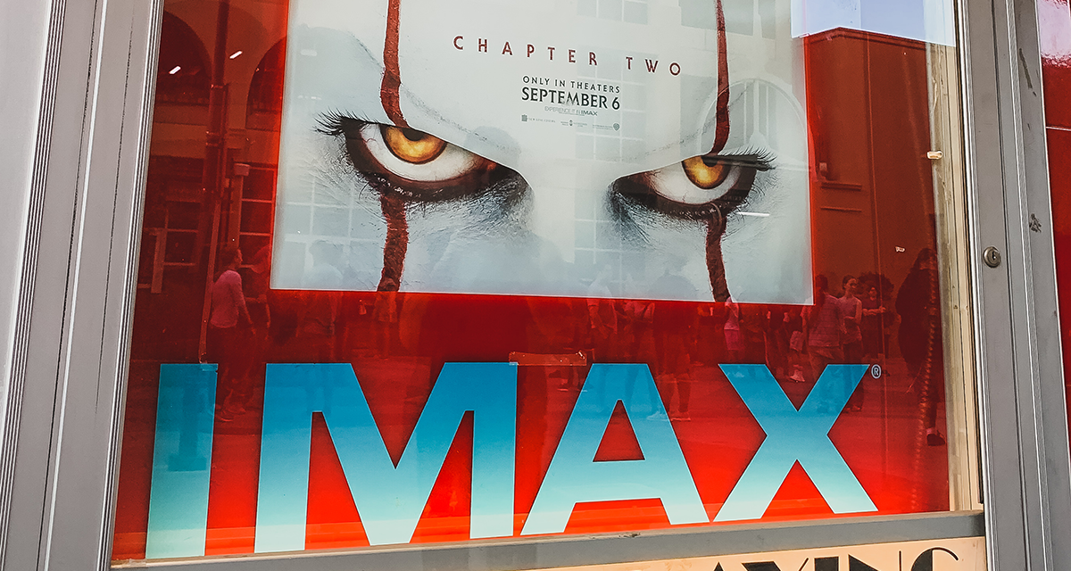 IT Chapter Two at Esquire IMAX Theatre in Sacramento