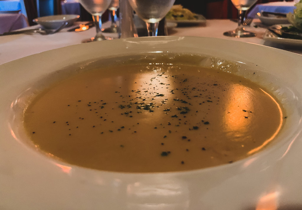 Ruth's Chris Steak House in Roseville at the Galleria - Lobster Bisque